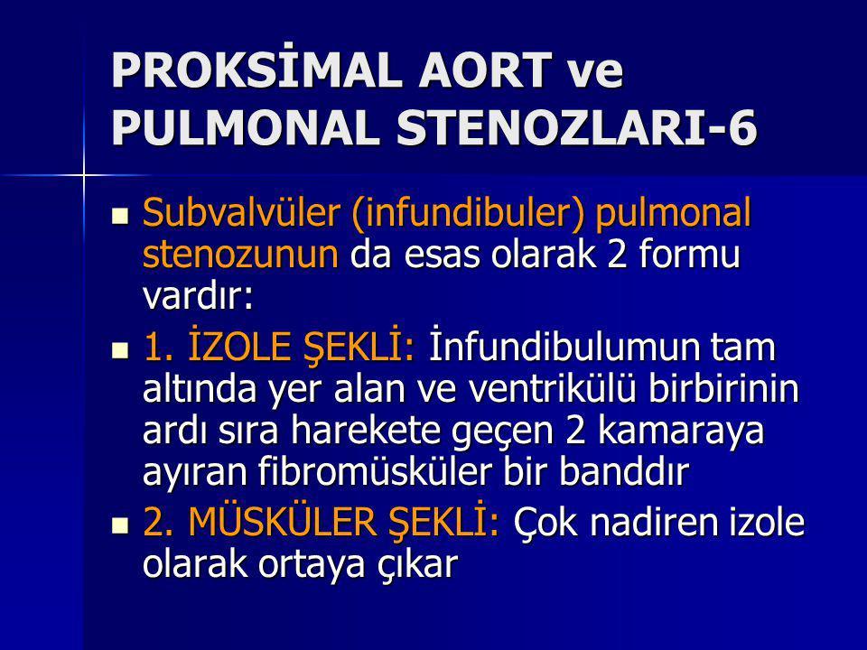 PROKSİMAL AORT ve PULMONAL STENOZLARI-6
