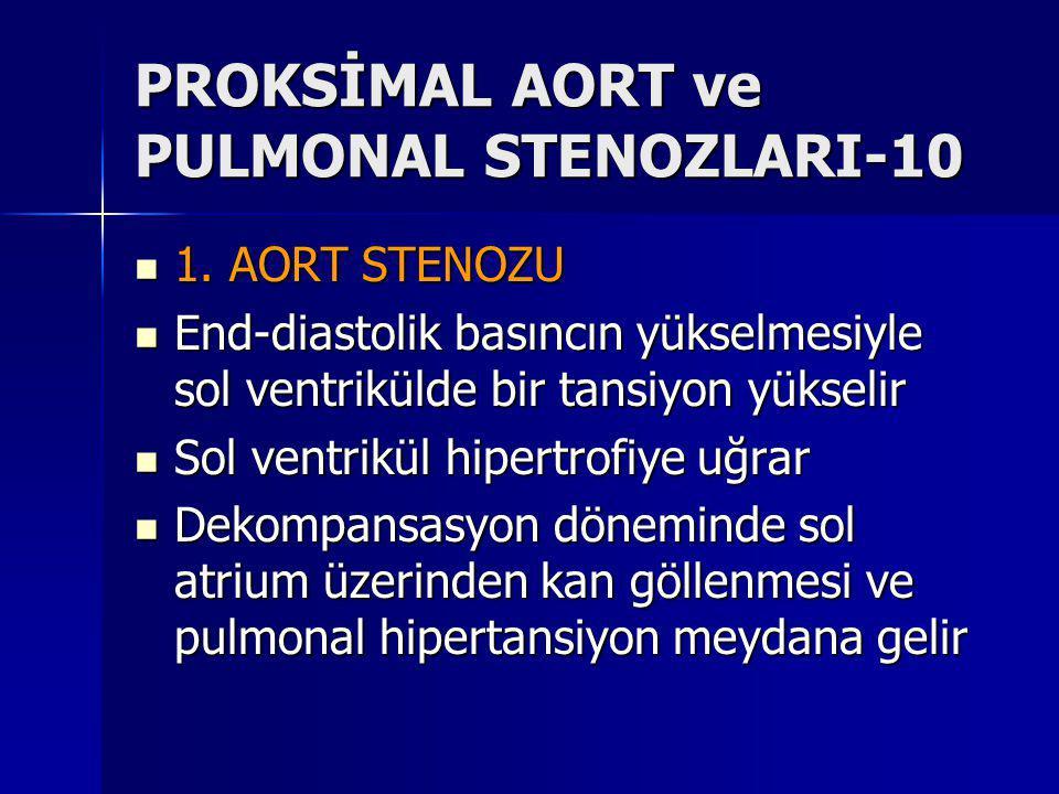 PROKSİMAL AORT ve PULMONAL STENOZLARI-10