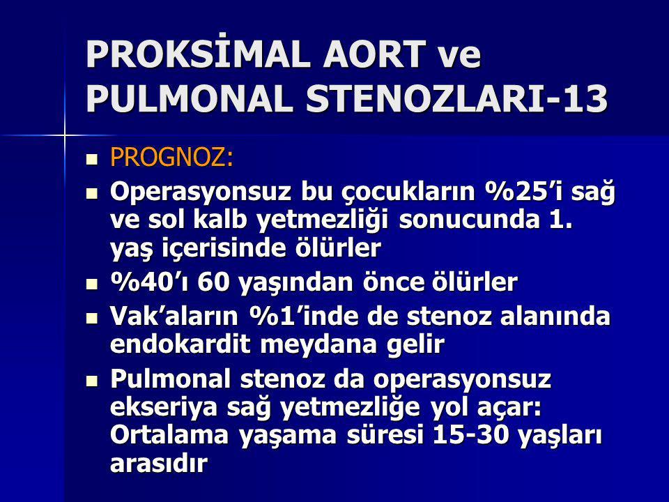 PROKSİMAL AORT ve PULMONAL STENOZLARI-13