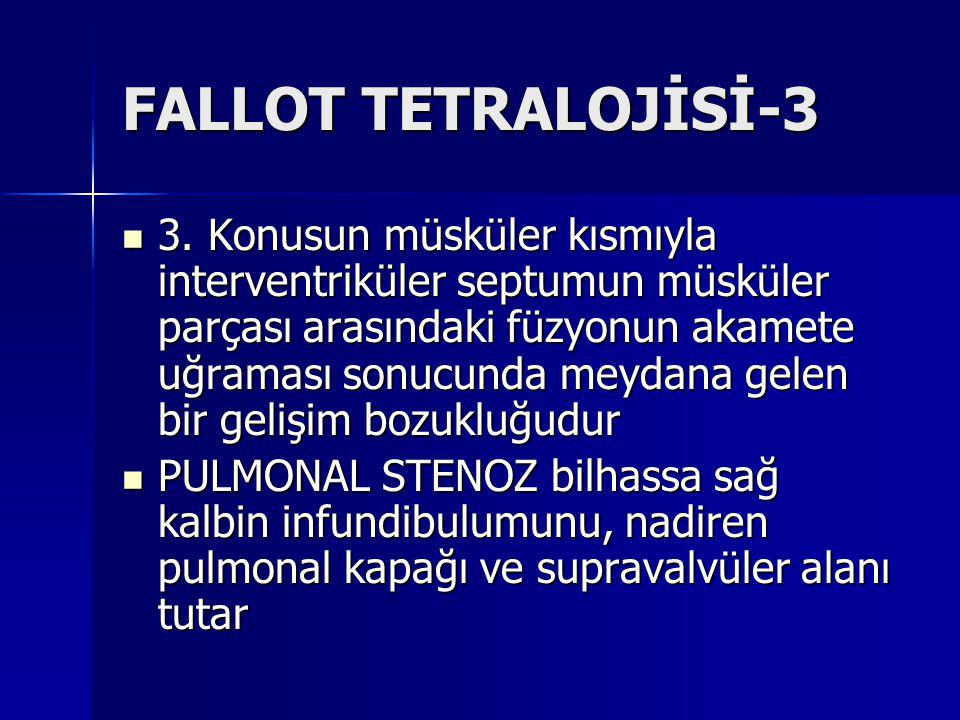 FALLOT TETRALOJİSİ-3