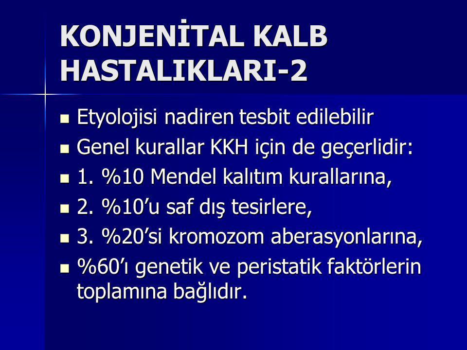KONJENİTAL KALB HASTALIKLARI-2