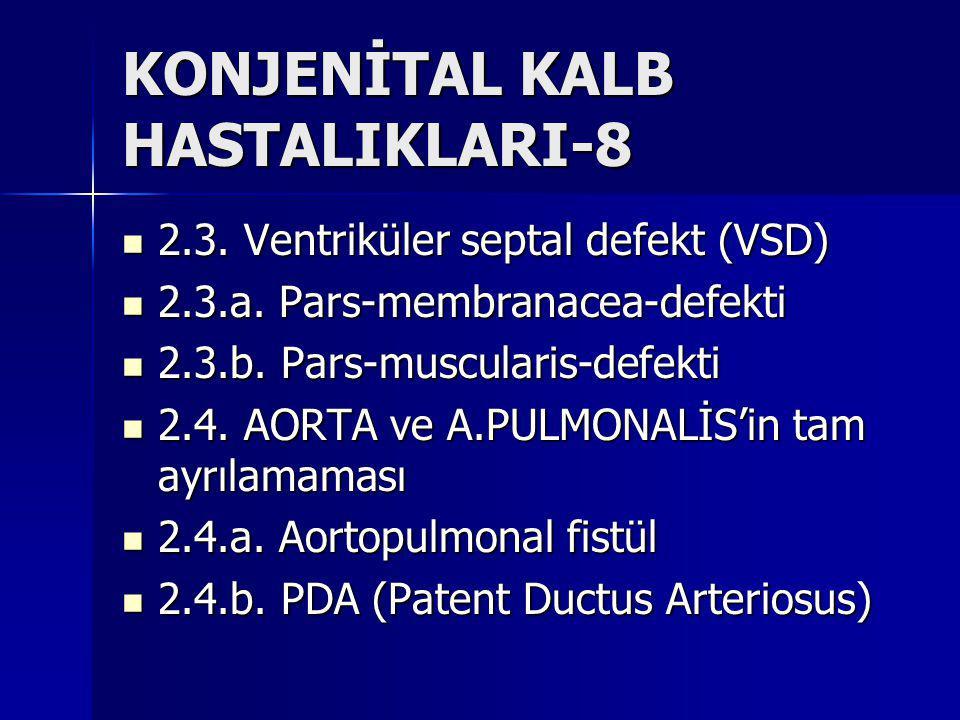 KONJENİTAL KALB HASTALIKLARI-8