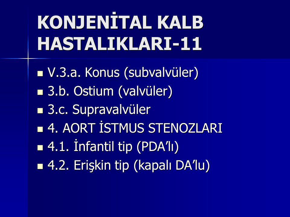 KONJENİTAL KALB HASTALIKLARI-11