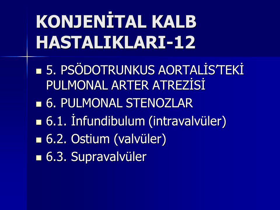 KONJENİTAL KALB HASTALIKLARI-12