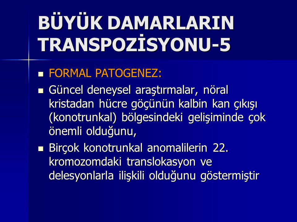 BÜYÜK DAMARLARIN TRANSPOZİSYONU-5