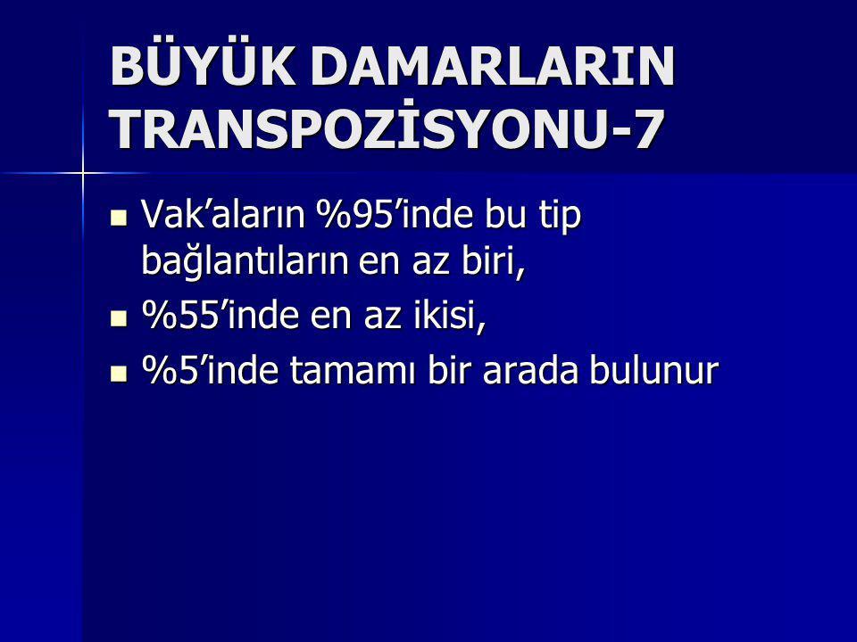 BÜYÜK DAMARLARIN TRANSPOZİSYONU-7