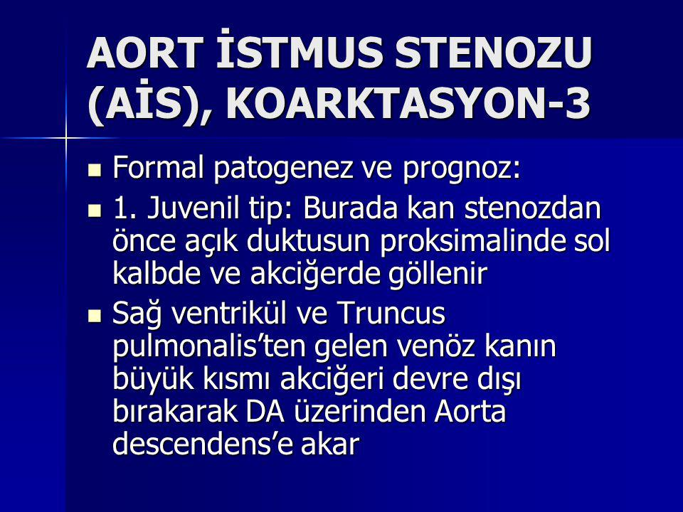 AORT İSTMUS STENOZU (AİS), KOARKTASYON-3