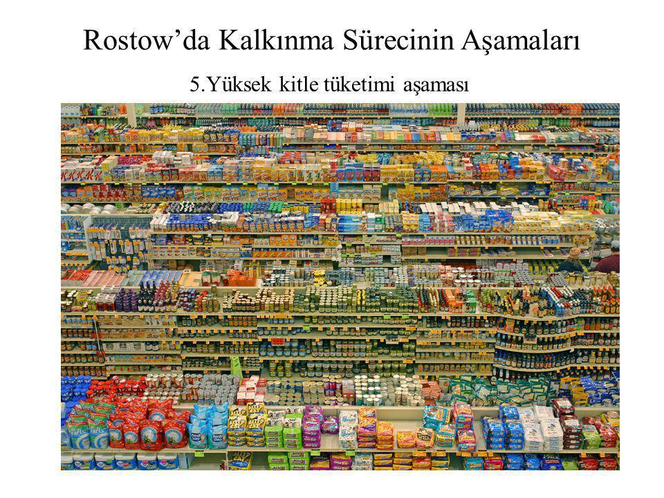 Rostow'da Kalkınma Sürecinin Aşamaları