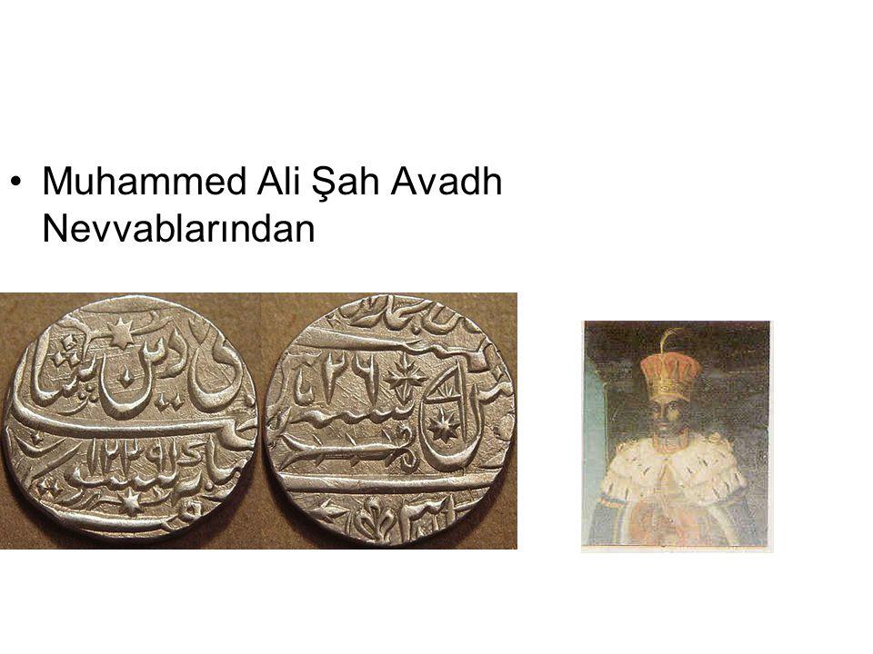 Muhammed Ali Şah Avadh Nevvablarından