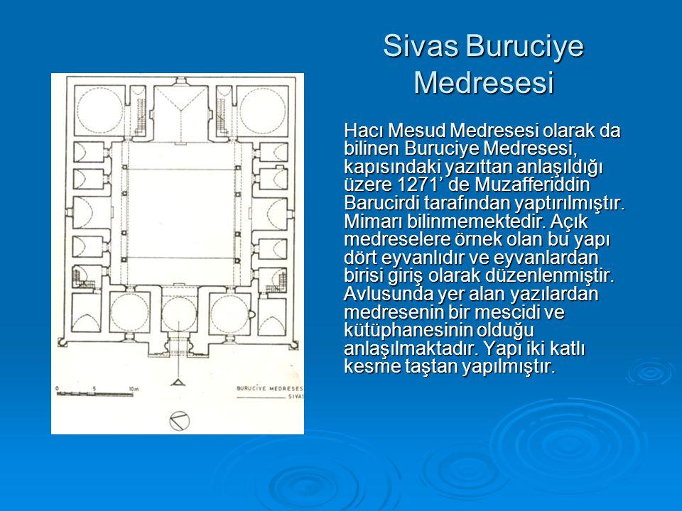 Sivas Buruciye Medresesi