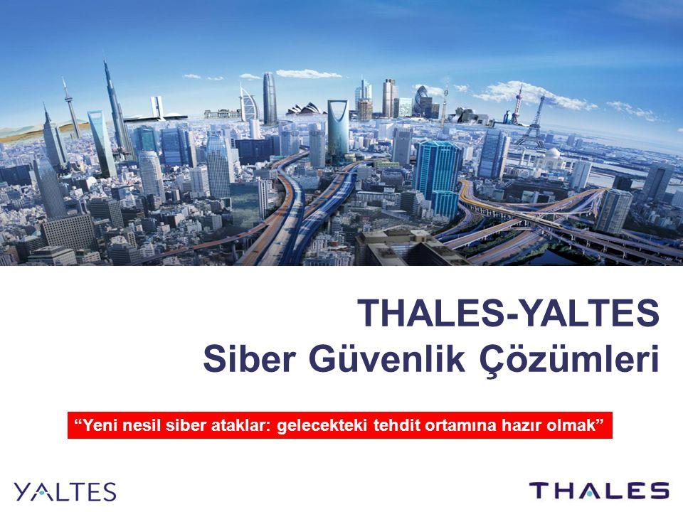 THALES-YALTES Siber Güvenlik Çözümleri