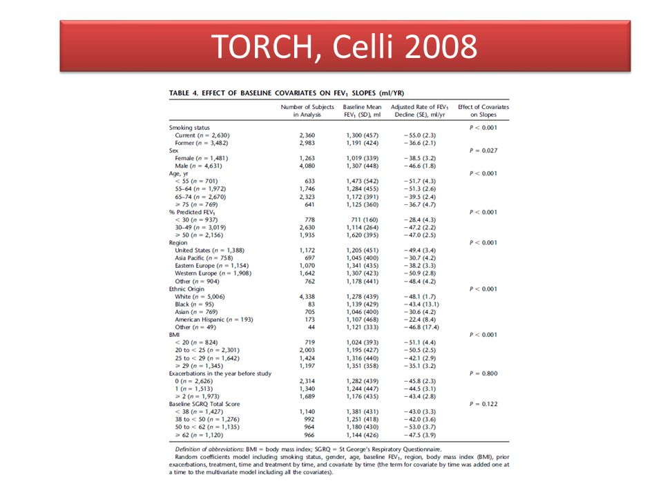 TORCH, Celli 2008