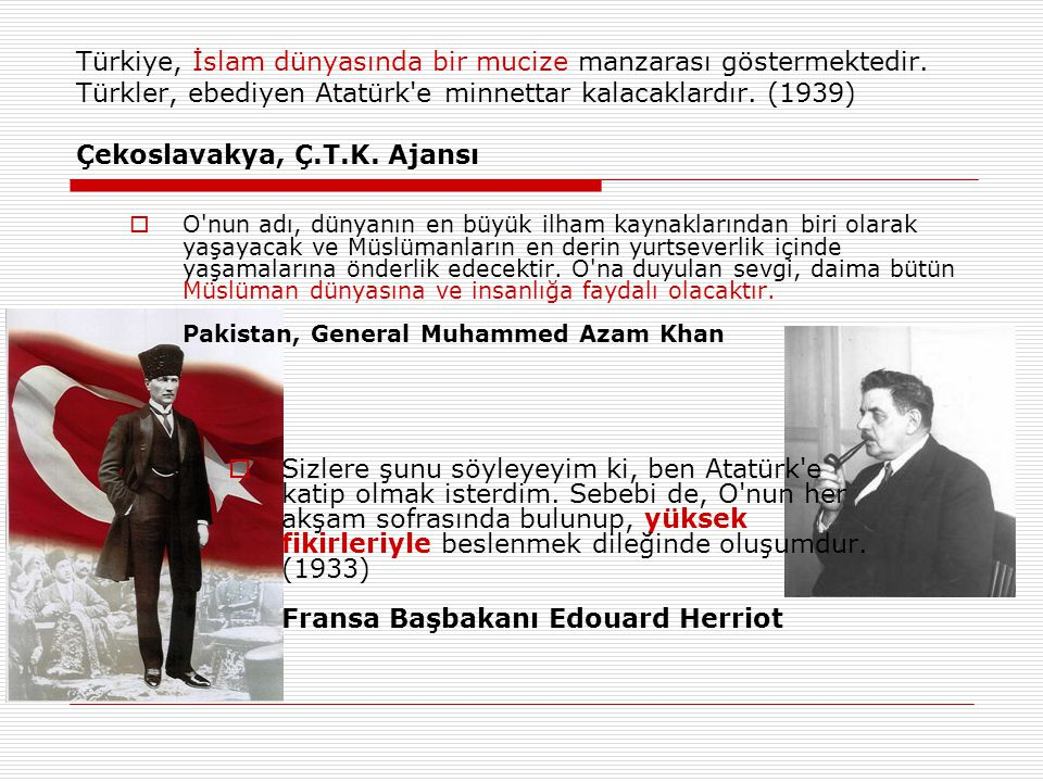 Türkiye, İslam dünyasında bir mucize manzarası göstermektedir
