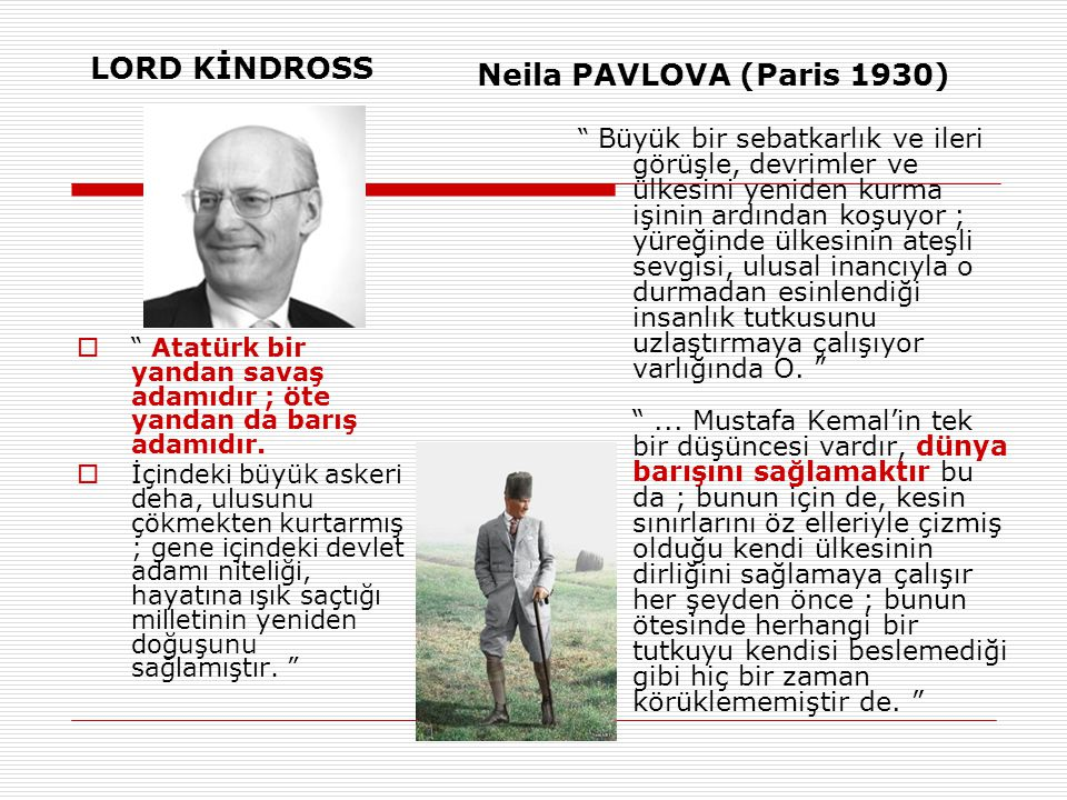 LORD KİNDROSS Neila PAVLOVA (Paris 1930)