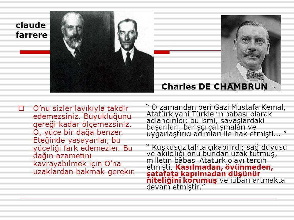 claude farrere Charles DE CHAMBRUN