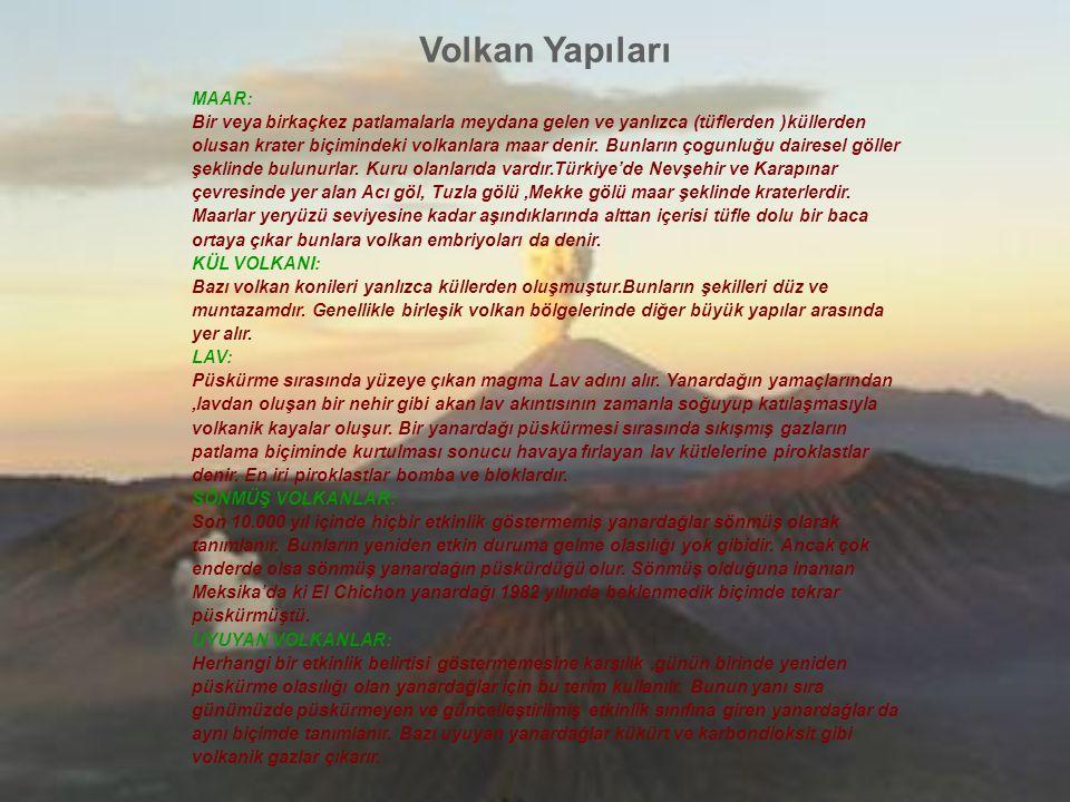 Volkan Yapıları MAAR: