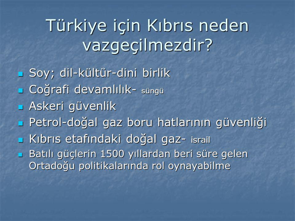 Türkiye için Kıbrıs neden vazgeçilmezdir
