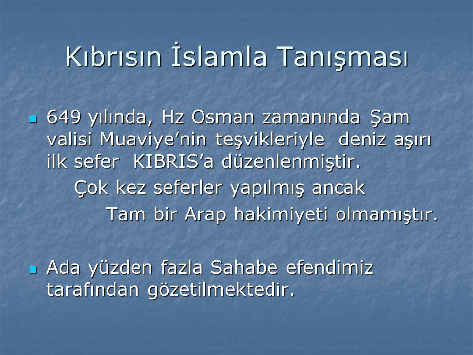 Kıbrısın İslamla Tanışması
