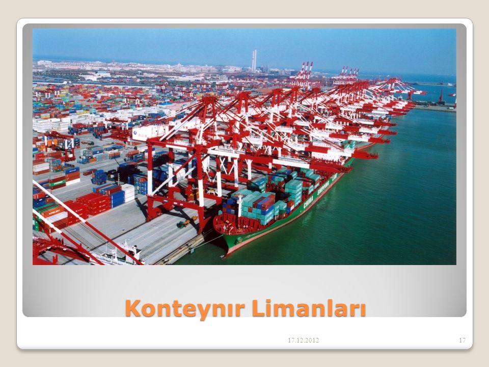 Konteynır Limanları 17.12.2012