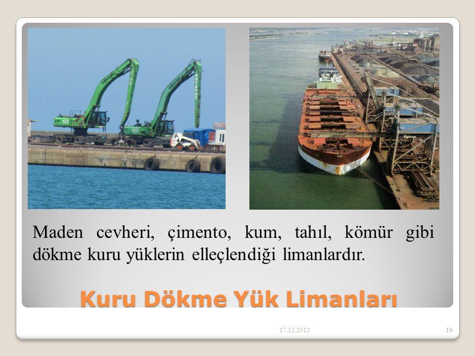 Kuru Dökme Yük Limanları