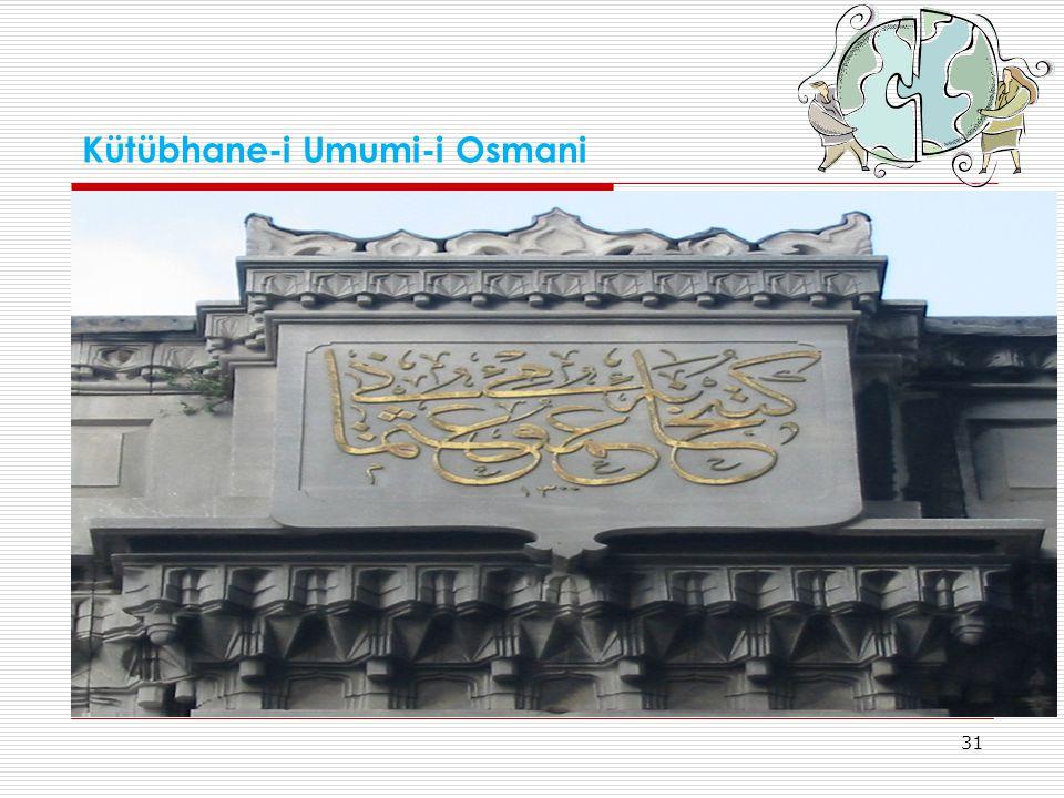 Kütübhane-i Umumi-i Osmani