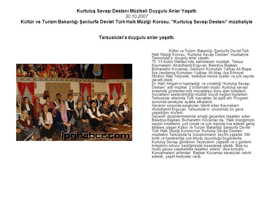Kurtuluş Savaşı Destanı Müzikali Duygulu Anlar Yaşattı 30. 10