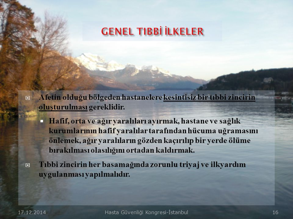 Hasta Güvenliği Kongresi-İstanbul