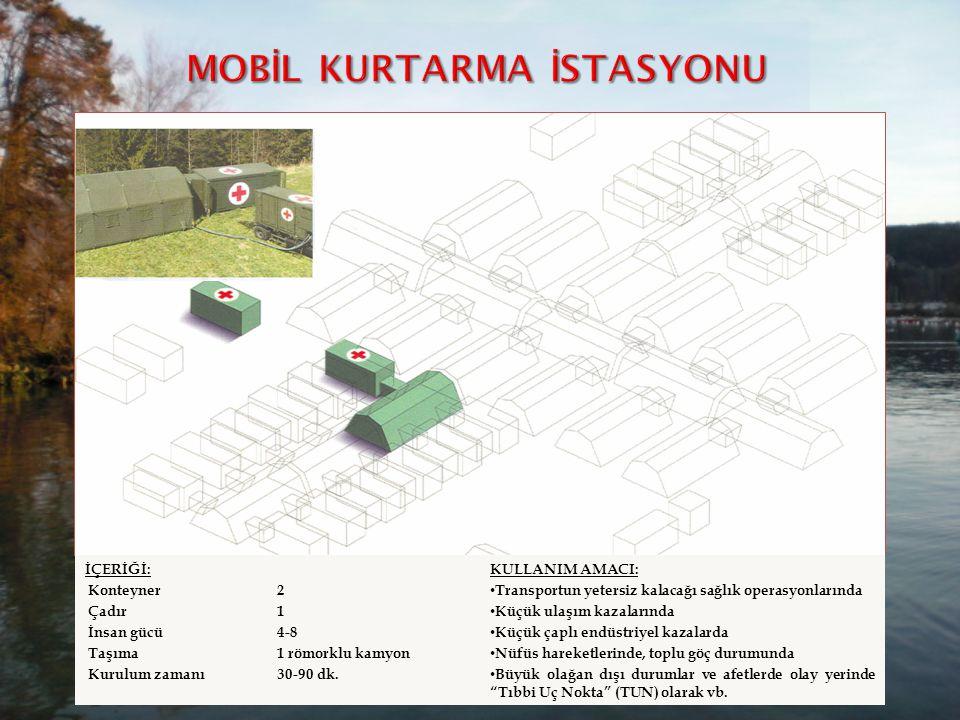 MOBİL KURTARMA İSTASYONU