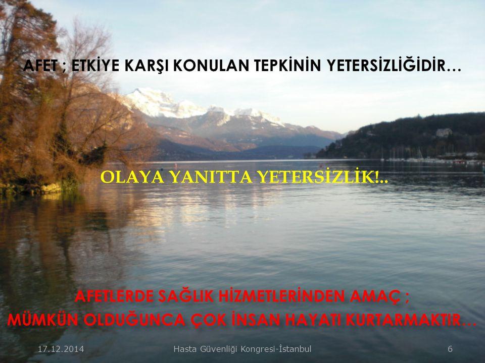 OLAYA YANITTA YETERSİZLİK!..