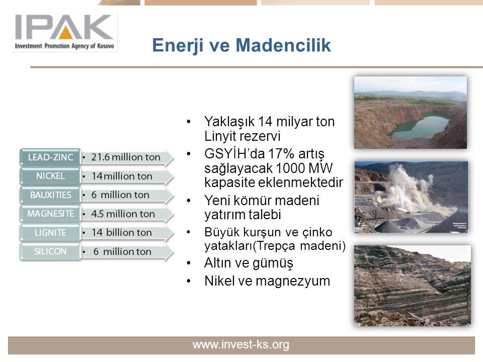 Enerji ve Madencilik Yaklaşık 14 milyar ton Linyit rezervi