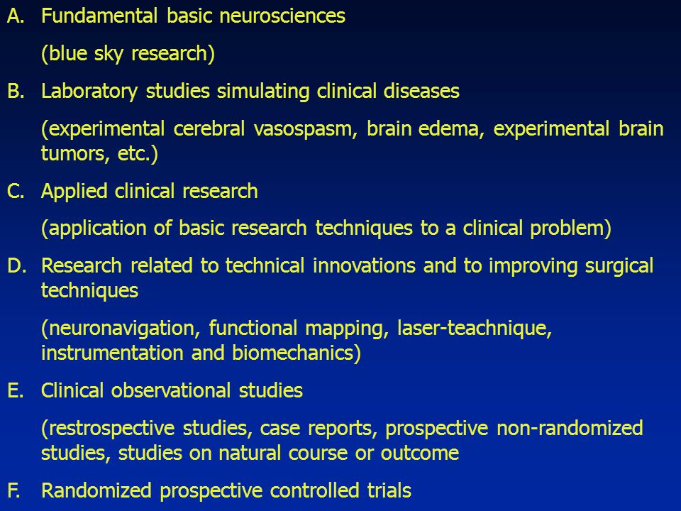 Fundamental basic neurosciences