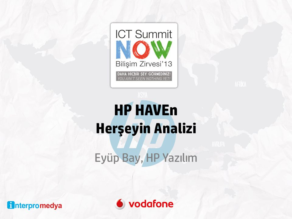 HP HAVEn Herşeyin Analizi