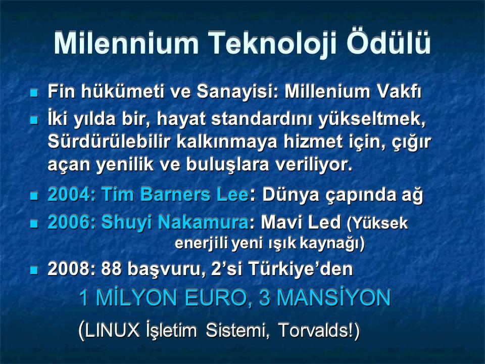 Milennium Teknoloji Ödülü