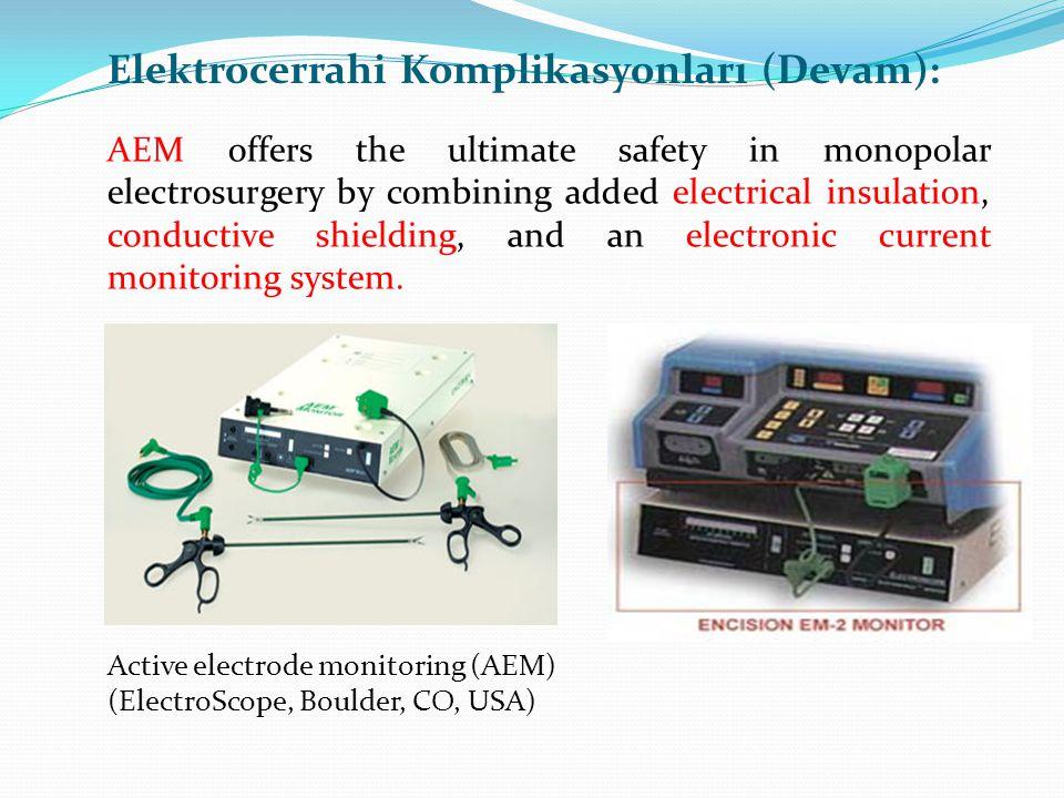 Elektrocerrahi Komplikasyonları (Devam):