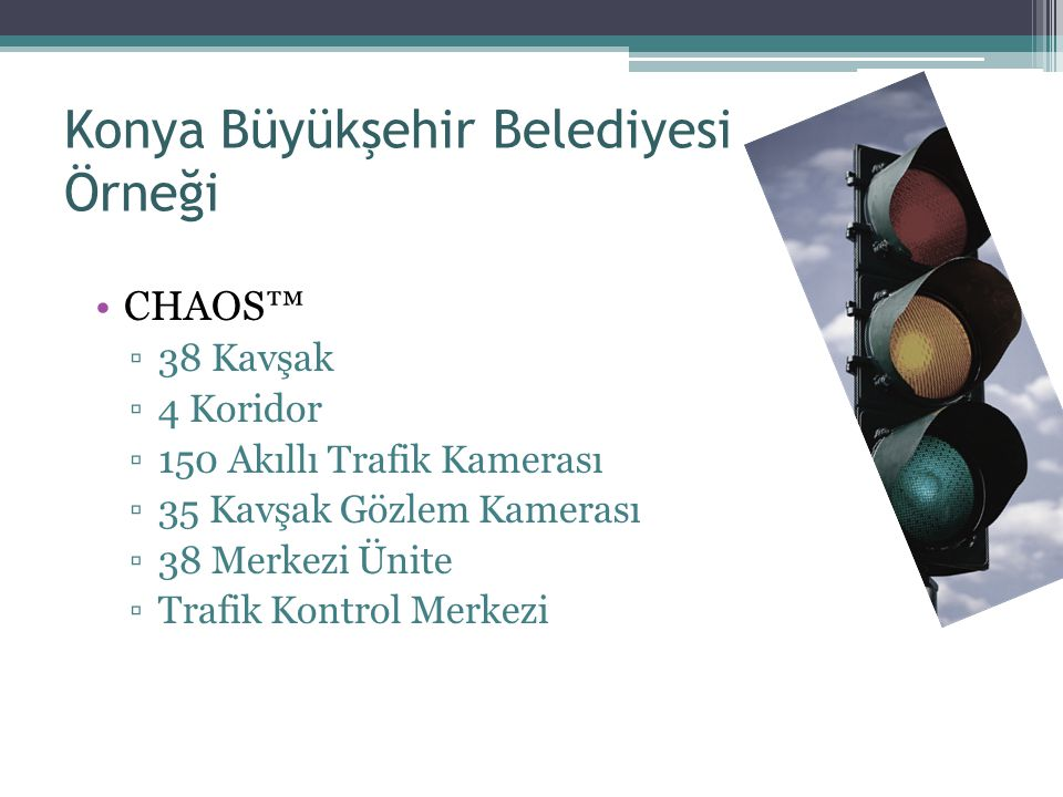 Konya Büyükşehir Belediyesi Örneği