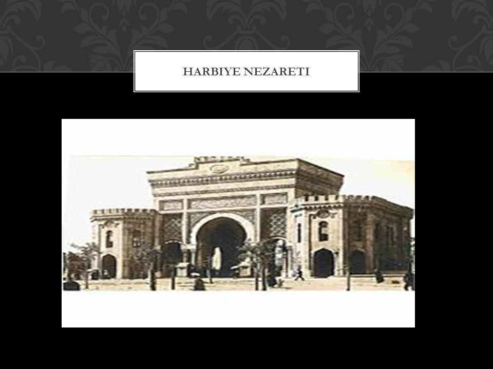 Harbiye Nezareti