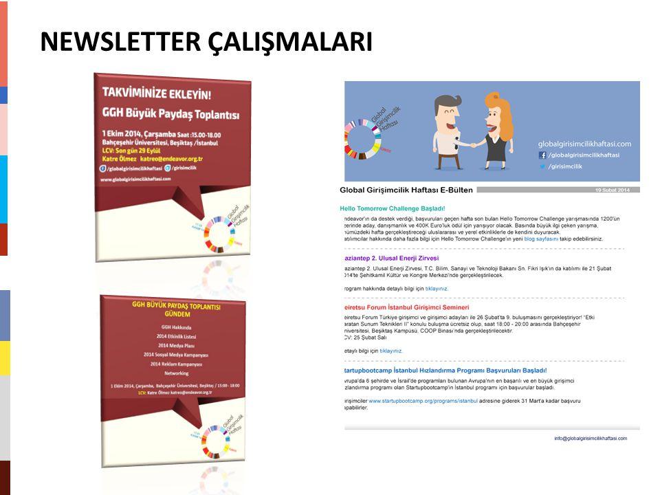 NEWSLETTER ÇALIŞMALARI