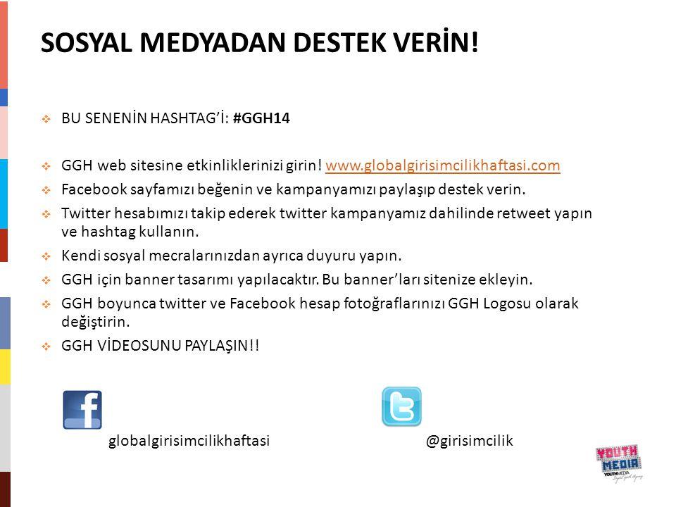 SOSYAL MEDYADAN DESTEK VERİN!