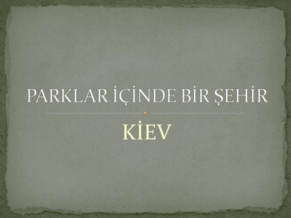PARKLAR İÇİNDE BİR ŞEHİR