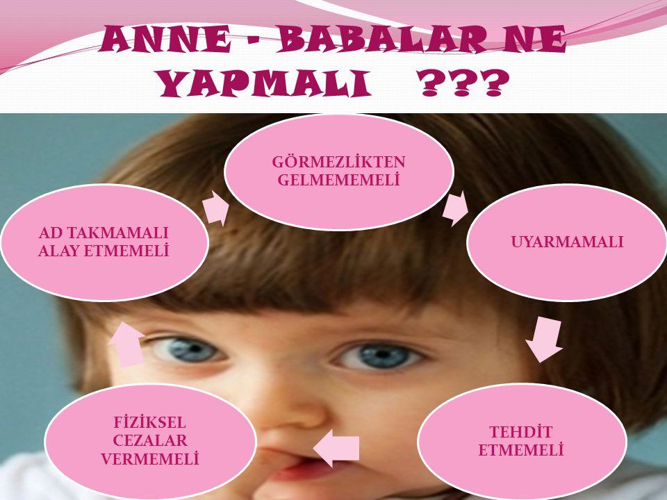 ANNE - BABALAR NE YAPMALI