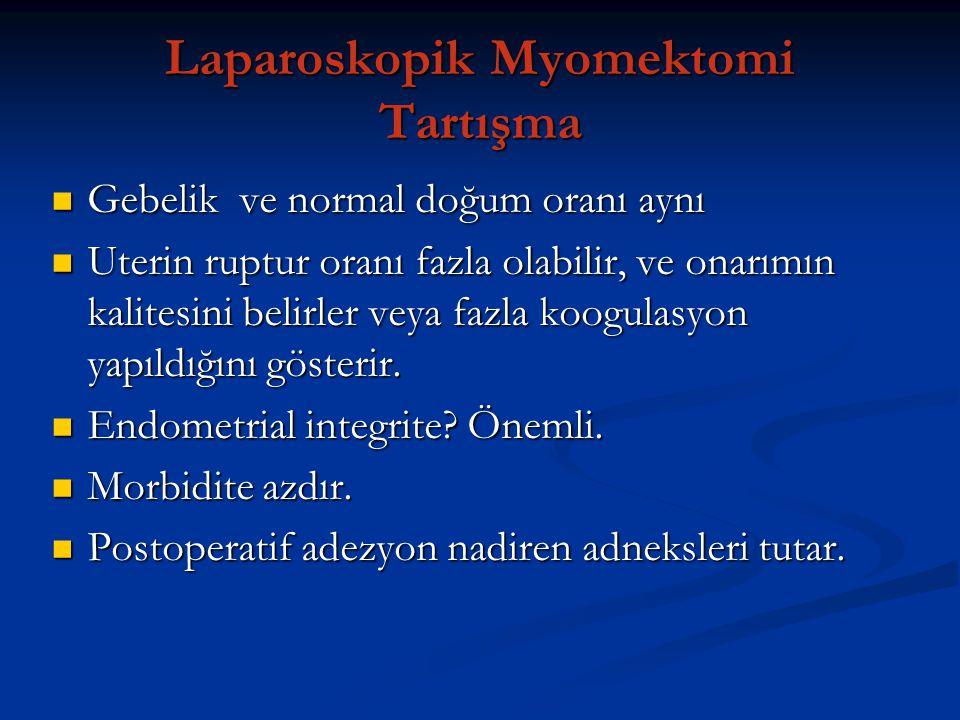 Laparoskopik Myomektomi Tartışma