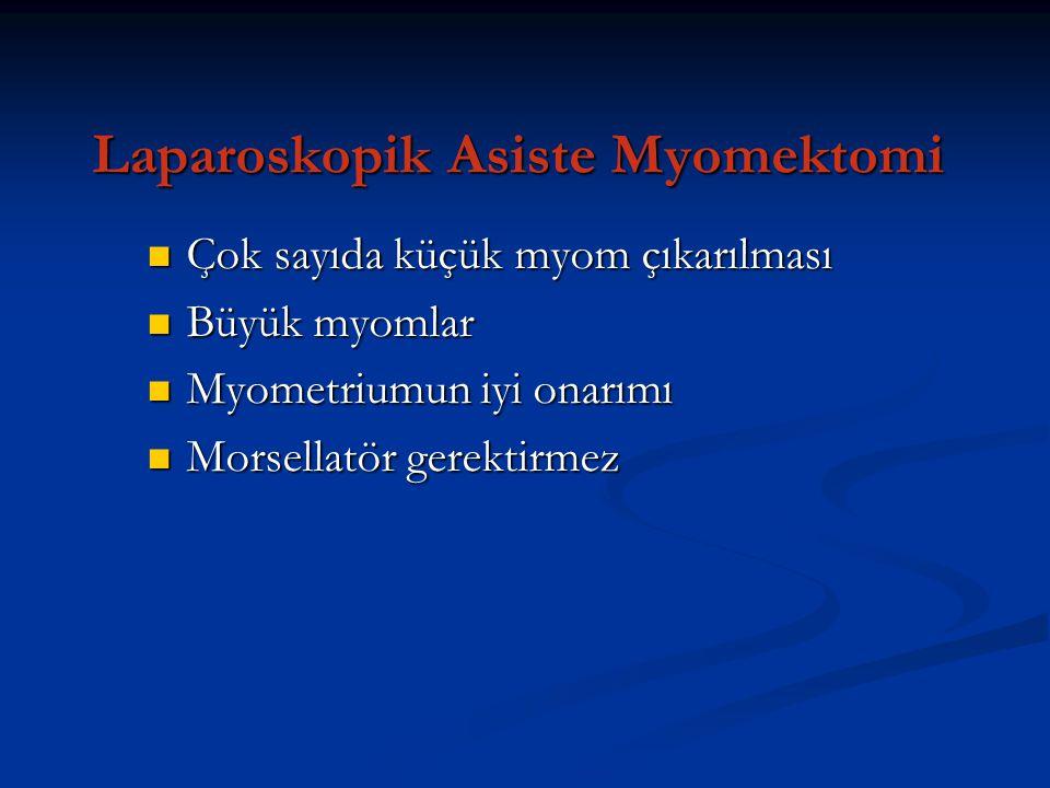 Laparoskopik Asiste Myomektomi
