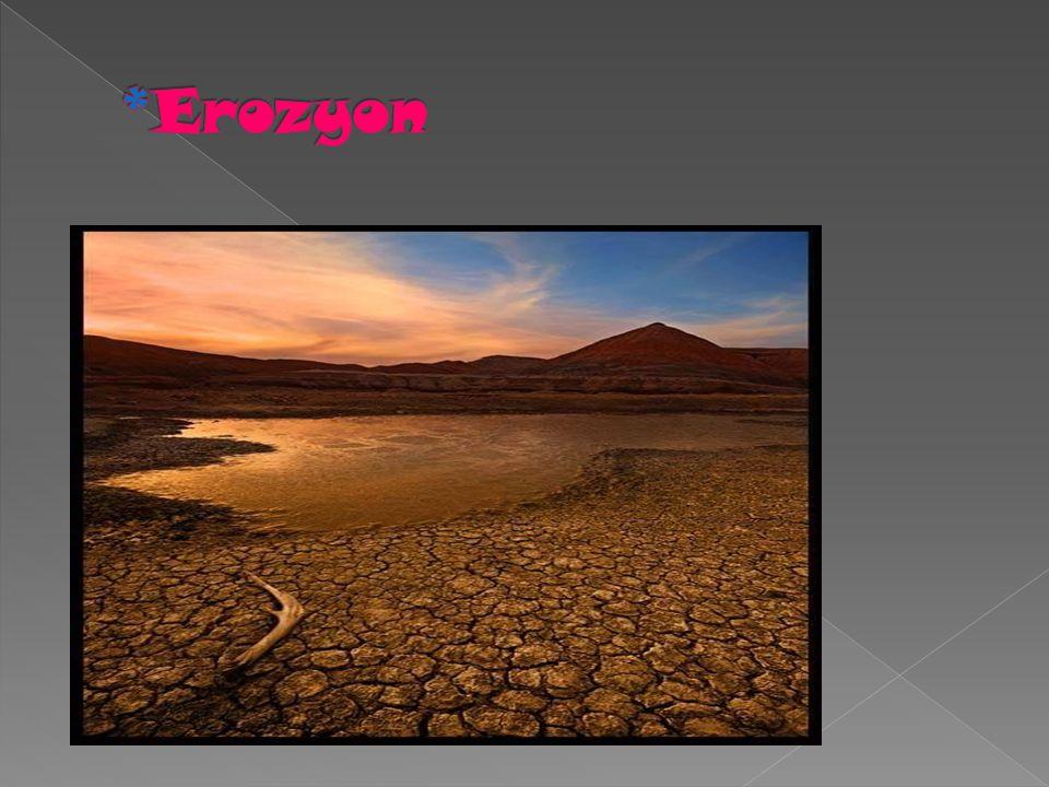 *Erozyon