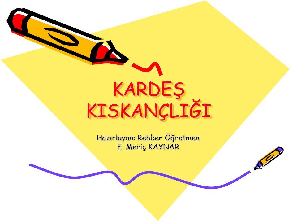 Hazırlayan: Rehber Öğretmen E. Meriç KAYNAR