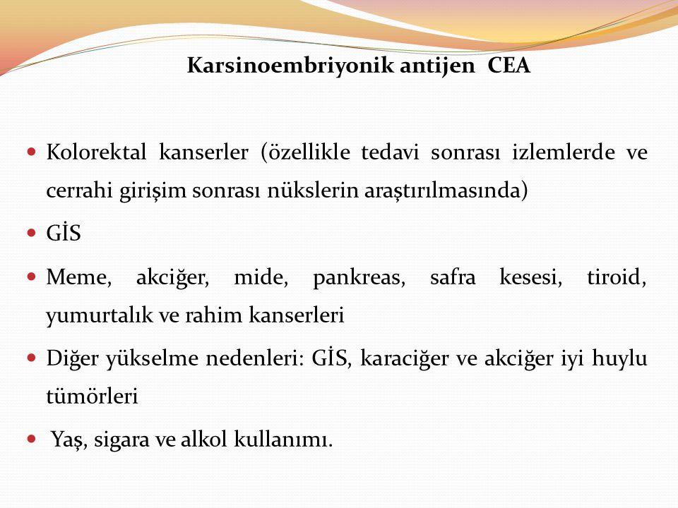 Karsinoembriyonik antijen CEA