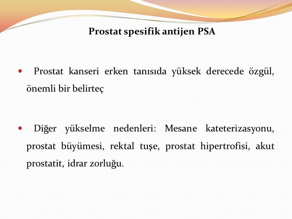 Prostat spesifik antijen PSA