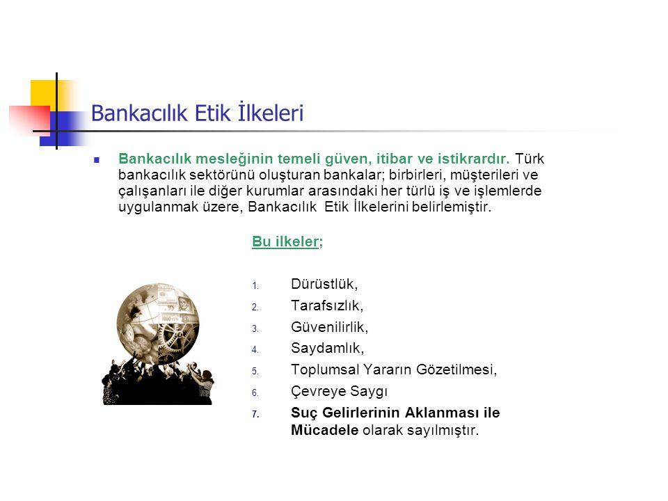 Bankacılık Etik İlkeleri