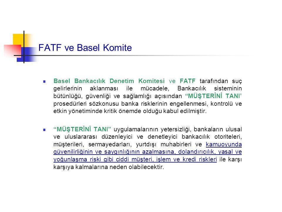 FATF ve Basel Komite