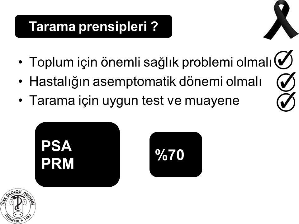 PSA PRM %70 Tarama prensipleri