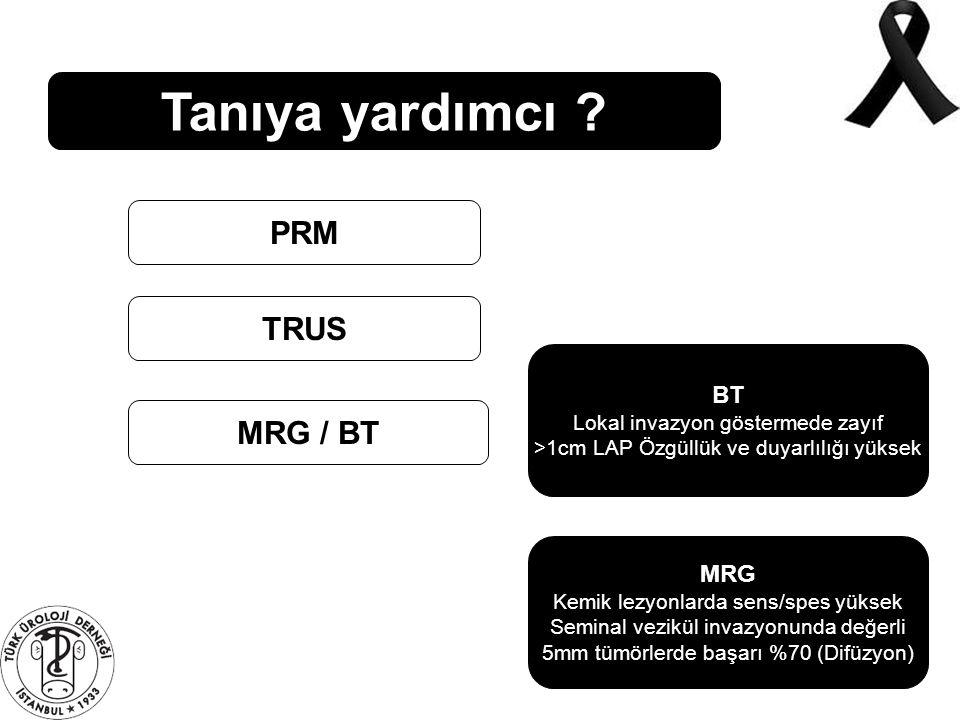 Tanıya yardımcı PRM TRUS MRG / BT BT MRG